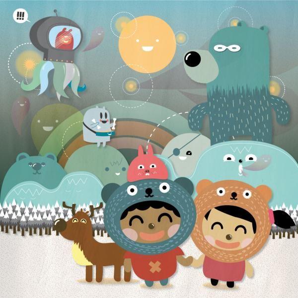 Ilustrador Javier López  http://www.luisan.net/ilustradores/ilustradores-infantiles-modernos-javier-lopez-ilustracion.html