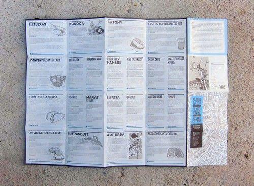 Plànol de Palma il·lustrat per Negrotinto de Sr. Ferrer