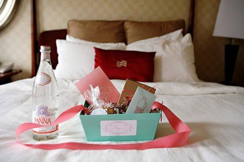 Welcome Baskets To Welcome Your Guests! « David Tutera Wedding Blog • It's a Bride's Life • Real Brides Blogging til I do!