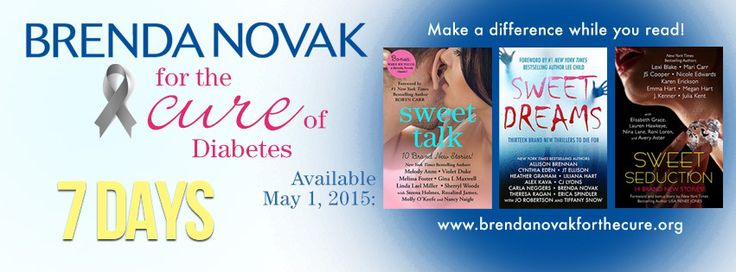 7 Day Countdown for Brenda Novak's Read for the Cure of Diabetes