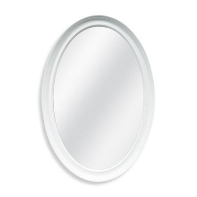 Decorative 21-Inch x 31-Inch Oval Mirror - BedBathandBeyond.com