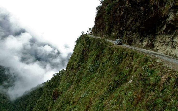 1. Staré Yungas Road, Bolívia