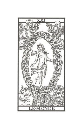 El Mundo Tarot de Marsella de Jodowrosky
