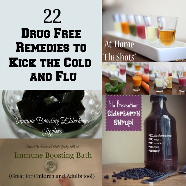 Healing Remedies for Cough, Cold and Flu