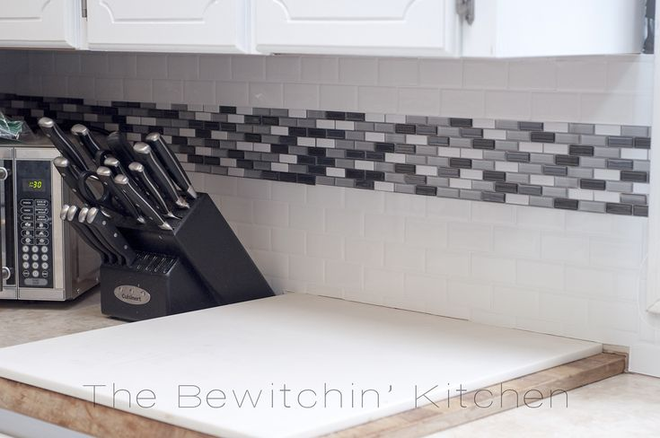 Smart Tiles Review Update Your Backsplash The Easy Way via @RandaDerkson