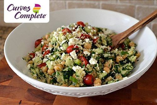 Doesn't this Quinoa Tabbouleh look good? The Curves Complete Plan is full of delicious choices!