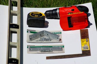 What supplies do you need to for landscape timber edging? Here's a list for my edging project.