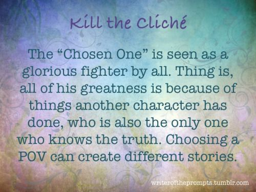 how to avoid cliche when writing a story