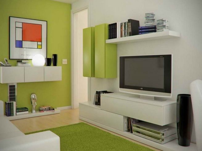 Small tv room ideas with good color combinations