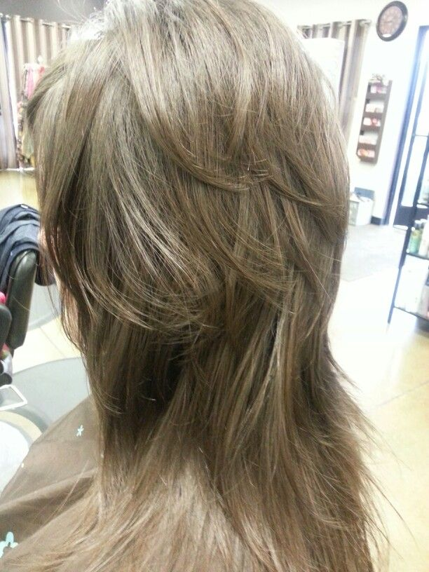 long hair short layers pictures of color cuts and up