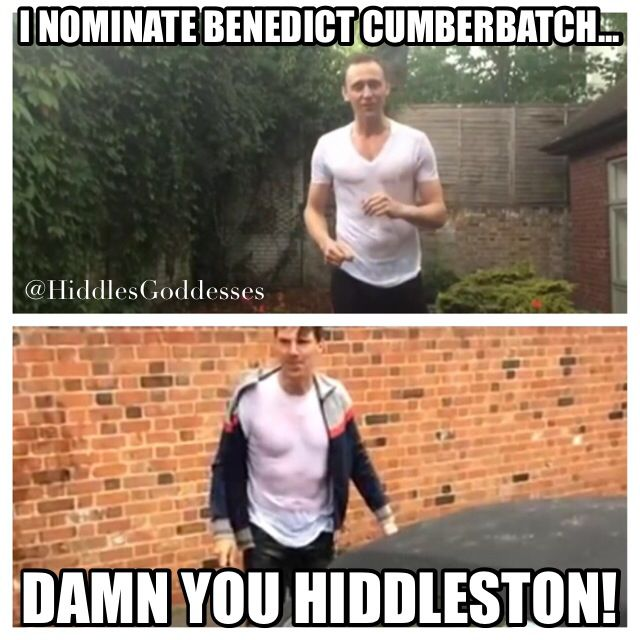 Thank you to whomever nominated hiddleston and started this amazing string of events