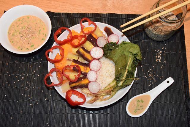 Plant Based Gathering: Buddha bowl with asian style sesame dressing