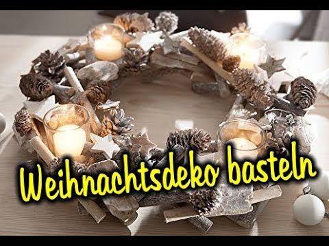 Weihnachtsdeko basteln -Ideen: 👉http://ratgeber-katalog.blogspot.de/2017/11/bastelideen-fur-weihnachten.html Sie möchten Weihnachtsdeko selber machen ? In di...