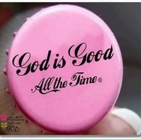 God is good... #iBelieve