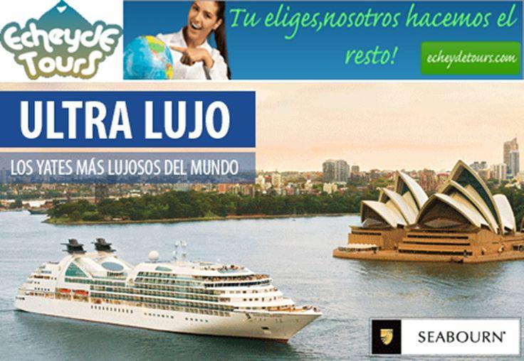 Viajar con Seabourn Cruises es algo único y extraordinario. Es la experiencia del lujo, de la elegancia, de lo sublime... La intimidad de sus yates de cruceros de lujo hacen que se pueda llegar a puertos en todos el mundo donde grandes barcos no puede llegar. una experiencia de lujo inolvidable !! http://cruceros.viajesecheydetours.com/