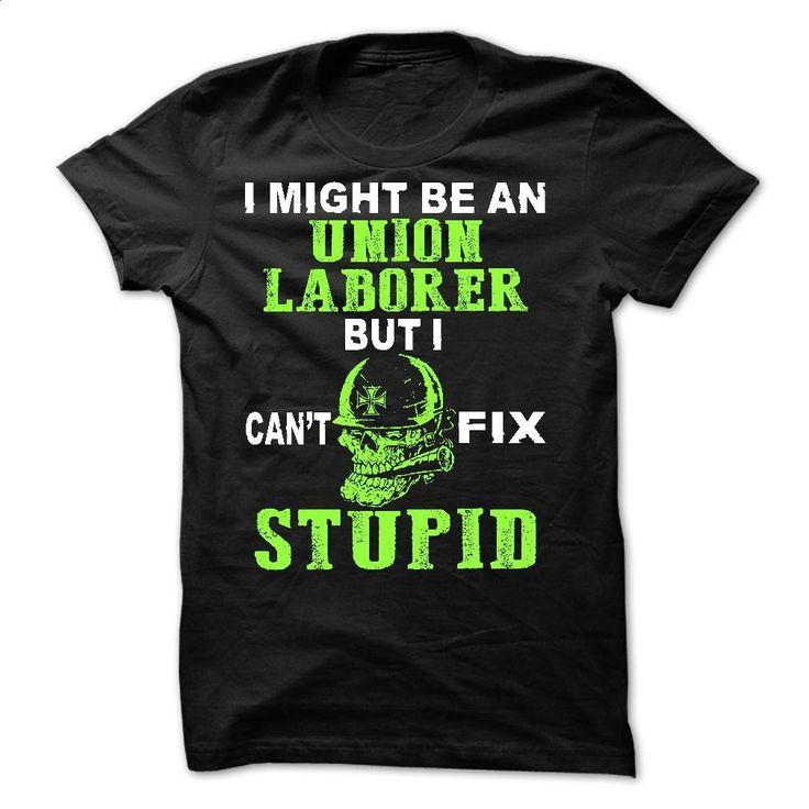 Union Laborer T Shirts, Hoodies, Sweatshirts - #black sweatshirt #sweat shirts. CHECK PRICE => https://www.sunfrog.com/LifeStyle/Union-Laborer.html?60505