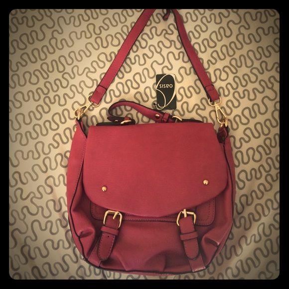 OASIS magenta cross body bag. NWT Beautiful bag! OASIS Bags Crossbody Bags