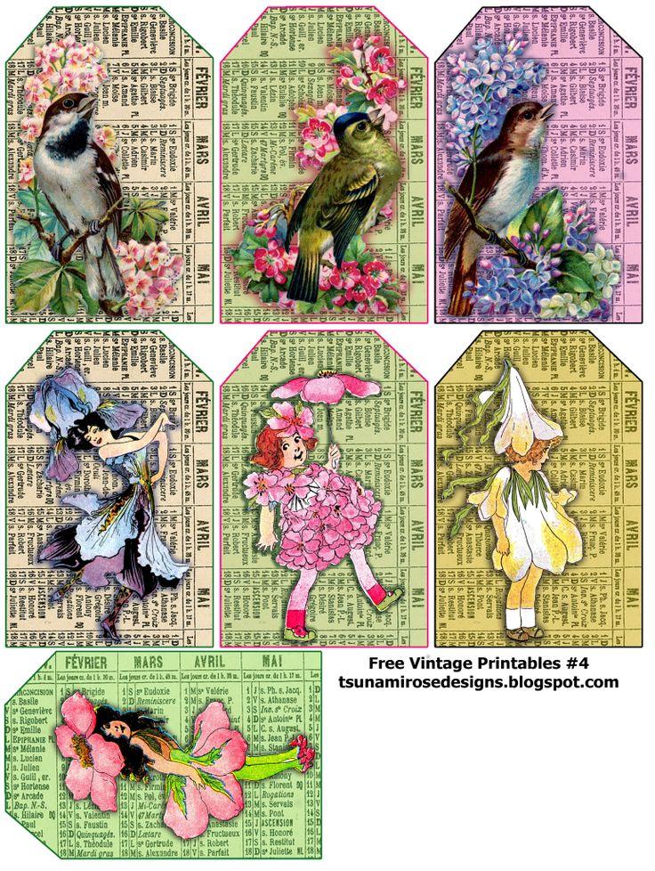 free vintage printable ... tsunamirosedesigns.blogspot.com