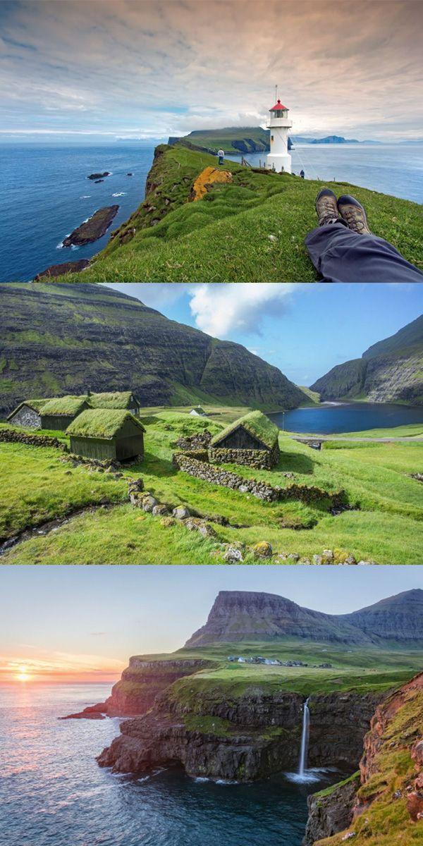 Färöer eignet sich super zum Wandern - Angebot via Urlaubspiraten.de