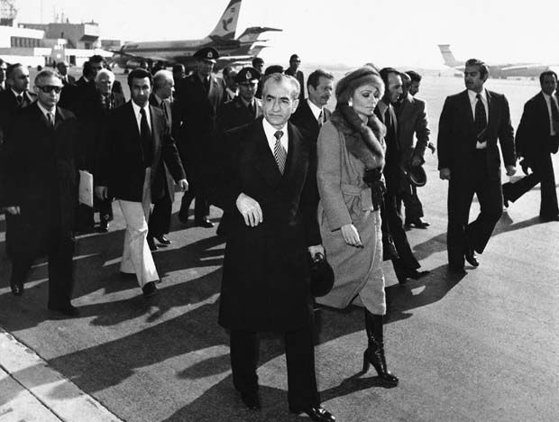 Image result for shah leaving iran 1979