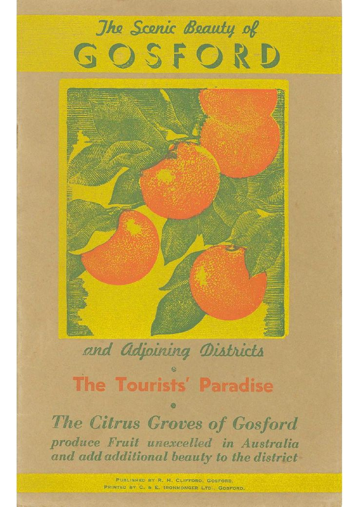 The Scenic Beauty of Gosford and Adjoining Districtis (1937)