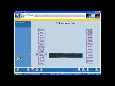 programing new peugeot key using pp2000 - YouTube