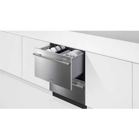 Awesome double drawer dishwasher! 2 separate washing units.