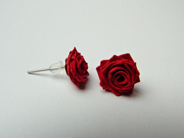 Náušničky růžičky