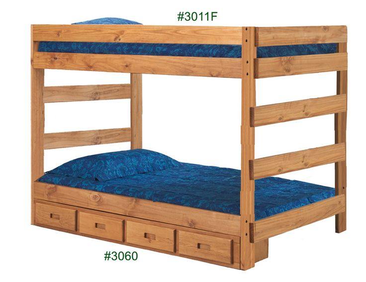 8 Best Solid Wood Bunk Beds Images On Pinterest 3 4 Beds
