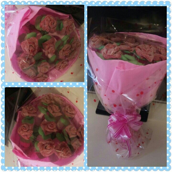 Rosas de dulce*