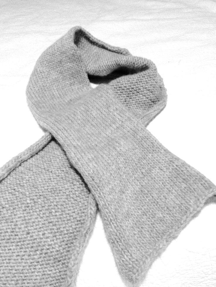 My first scarf handmade #scarf #handmade #knit