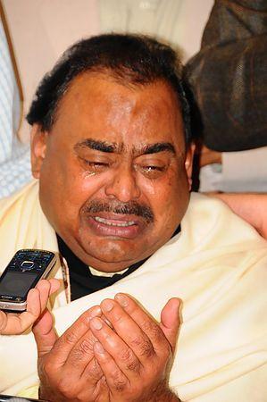 パキスタンの野党・統一民族運動(MQM)指導者のアルターフ・フセイン氏=2010年9月、ロンドン(EPA=時事) ▼3Jun2014時事通信|パキスタン野党指導者を逮捕=英警察、資金洗浄で http://www.jiji.com/jc/zc?k=201406/2014060300980 #Altaf_Hussain