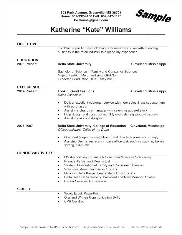 Sales Associate Resume Examples Retail Resume