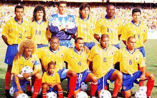 EQUIPOS DE FÚTBOL: SELECCIÓN DE COLOMBIA contra Argentina 12/02/1997