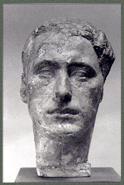 Alberto Giacometti - Artist XXè - Sculpture - 'Bruno Giacometti' 1929