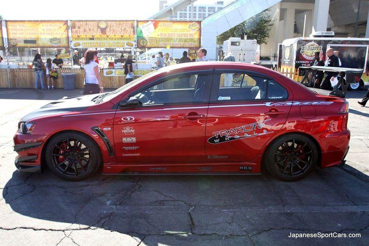 2008 Tuned Mitsubishi Lancer Evolution X with Varis Body Kits