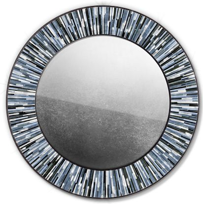 Roulette Mirror Grey © Piaggi