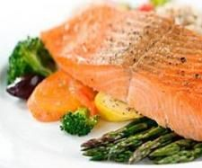 Recipe Salmon and Veg super quick! by Katherine Clay - Natural Mamma - Recipe of category Main dishes - fish
