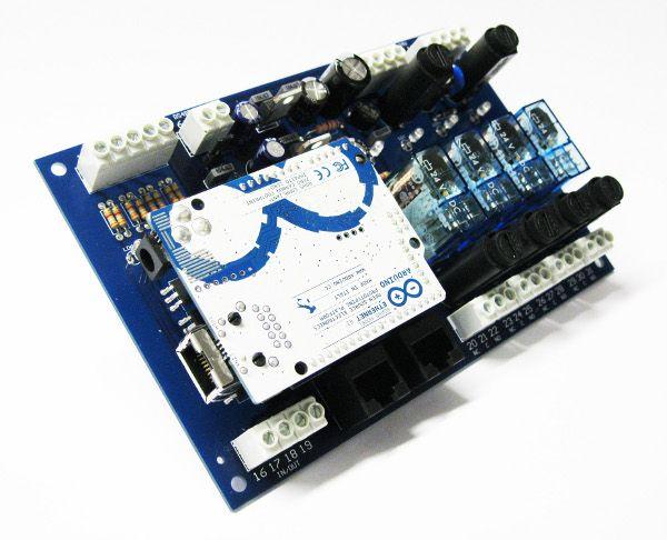 BMini Shield for #Arduino #Ethernet Board