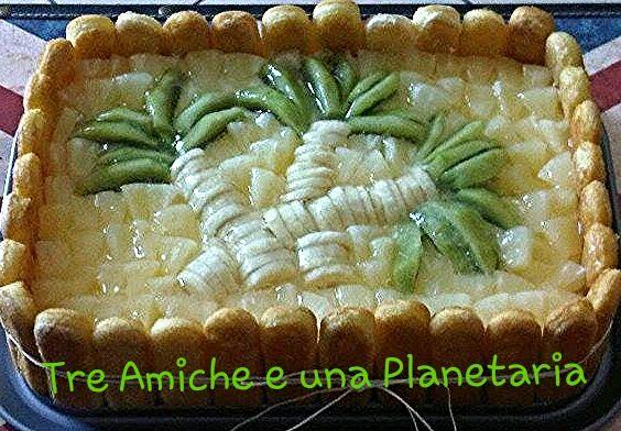 torta al mascarpone e frutta