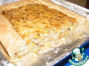 Пирог Киш с тунцом