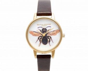 Woodland Chocolate Bee Watch. Finns att köpa på oliviaburton.com