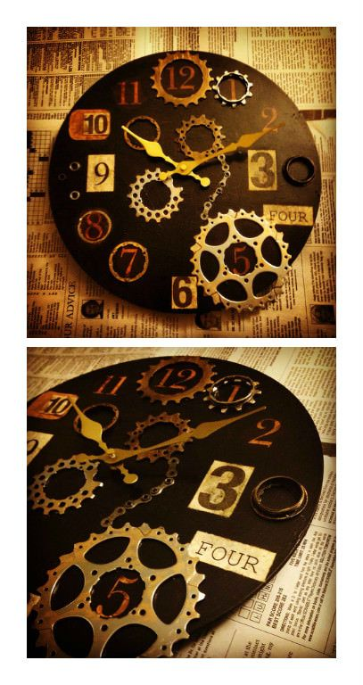 The bicycles may have been disassembled, but the wheels of time don't stop. Christy Cole of Urban Veggie keeps them turning with repurposed bike components, including hubs, chain sets and gears, which she transforms into original art pieces—and timekeepers—for the home. Since she uses sustaina…