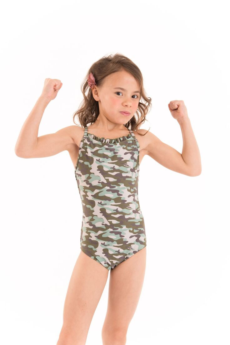 Girls Camo Camouflage Swimsuit Absolutely Gorgeous Itsy