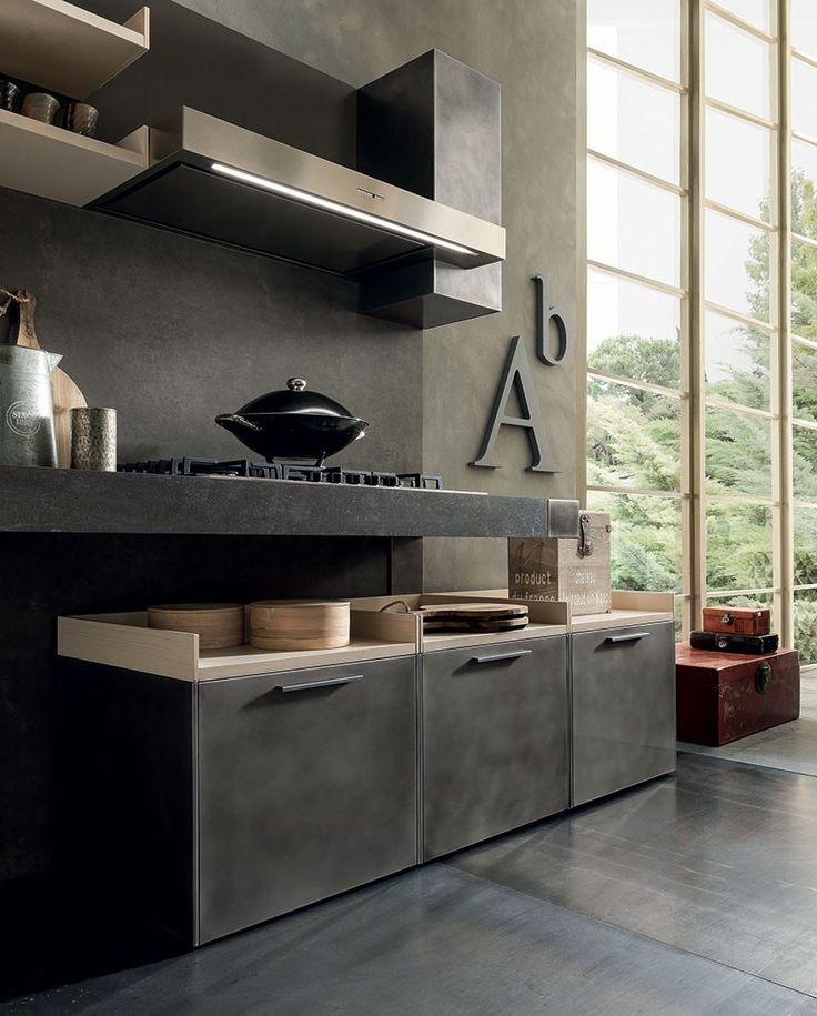 Kitchen with island URBAN CHIC 02 Arts
