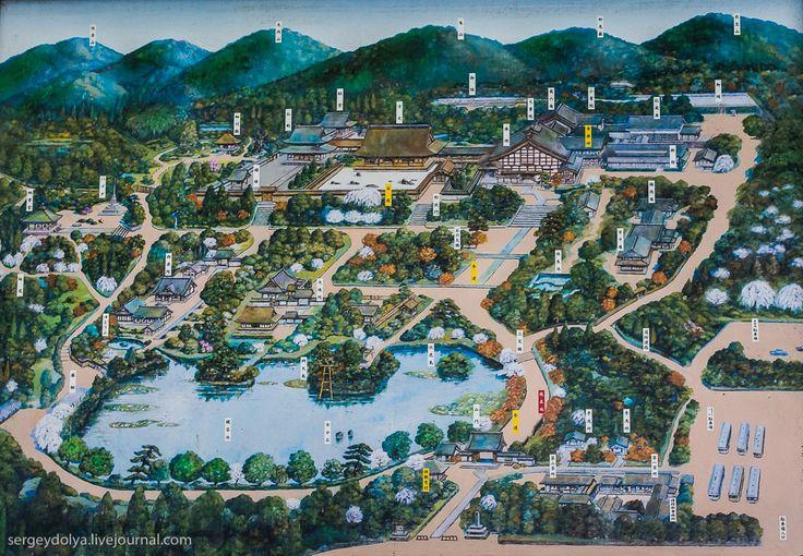 Киото. Сад камней и Золотой храм