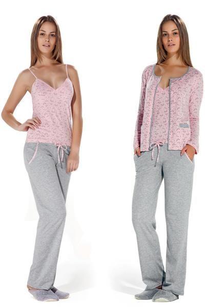 Пижамы женские длинные штаны майка