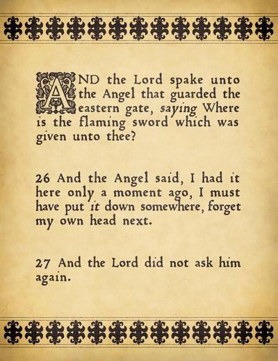 'Good Omens' by Neil Gaiman & Terry Pratchett I love this book too much...
