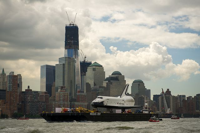 Space Shuttle Enterprise Move to Intrepid by nasa hq photo, via Flickr