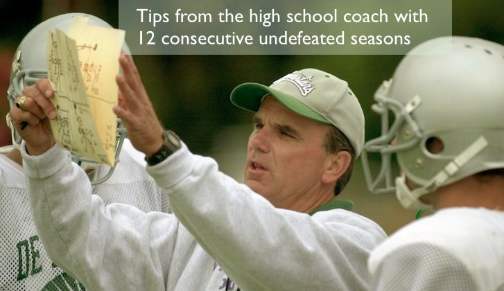 High School Football Coaching Book